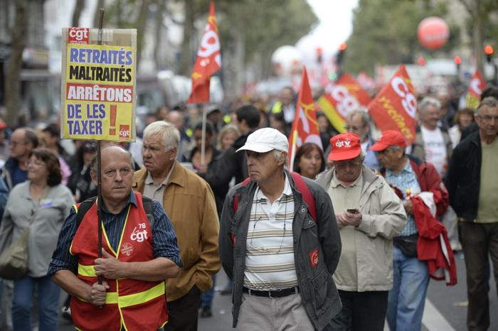 163 Paris pensia protest - Десятки тысяч французов протестуют против пенсионной реформы