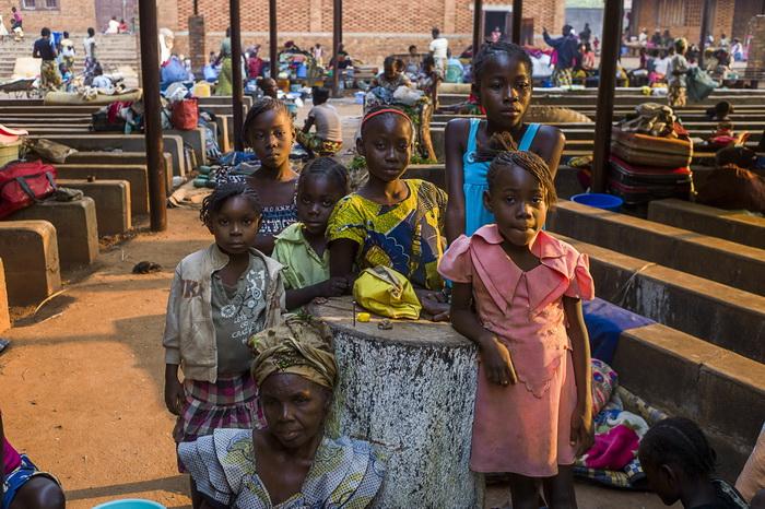 2,3 миллиона детей  пострадали от конфликта в Центральной Африке