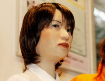 191 girl japan - Японский робот успешно сдал экзамен в вуз