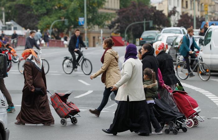 191 imigrang germeny - Германия в 2012 году приняла большое количество иммигрантов