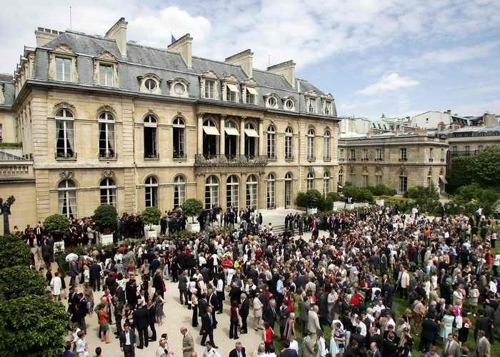 197 Elysee Palace - Здания Парижа, обычно недоступные туристам, раскроют свои двери на два дня