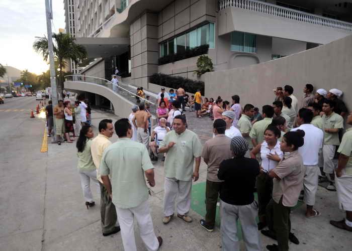 197 MEXICO Zemlatresenie - Землетрясение произошло на юго-западе Мексики