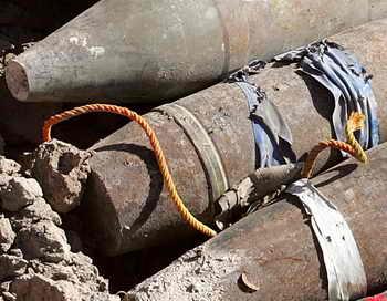 В Украине нашли 12 боеприпасов времён Второй мировой войны