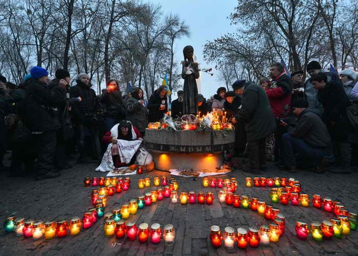 На Украине поминают жертв голодомора
