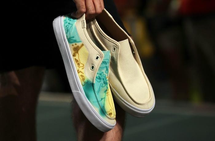 Показ новой коллекции обуви прошёл в Лас-Вегасе