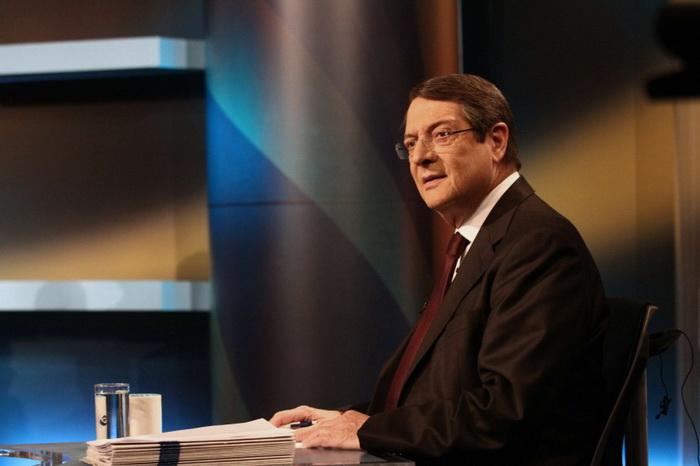 Телерадиокомпания Кипра запустила в эфир прошлогоднее поздравление президента