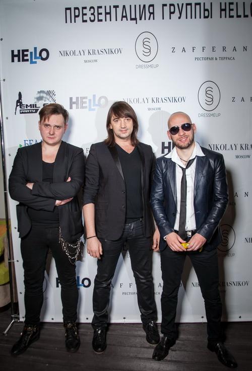 Презентация международного музыкального проекта: группа Hello