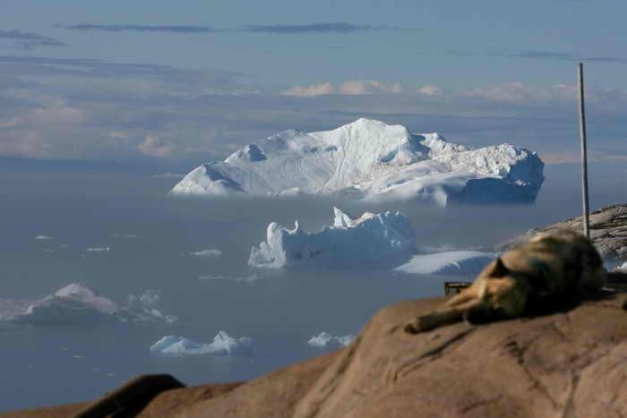 197 Greenlanders - В Гренландии подо льдом обнаружен 750-километровый каньон