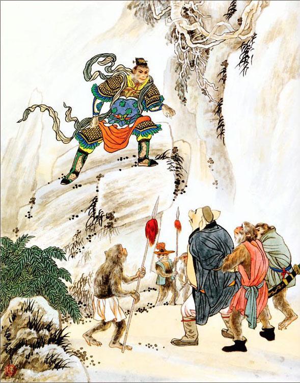 Роман «Путешествие на Запад». Глава 54