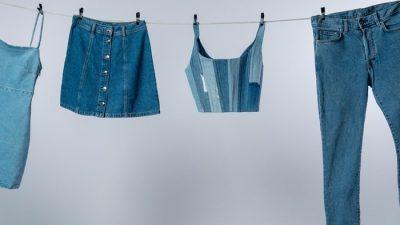 Джинсовые платья для эффектных девушек