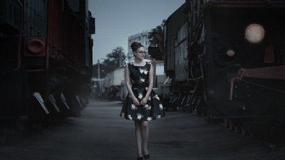 Платье в стиле «беби долл»