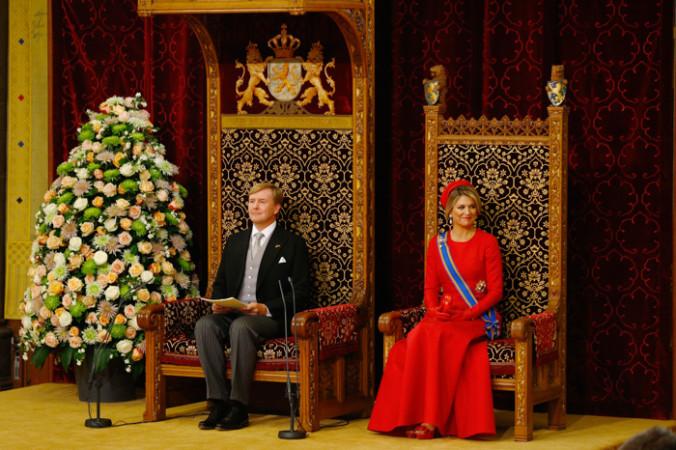 Король Нидерландов Виллем-Александр и его супруга, королева Максима. Фото: Michael Kooren - Pool /Getty Images   Epoch Times Россия