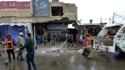 Почти сорок человек стали жертвами терактов в Ираке