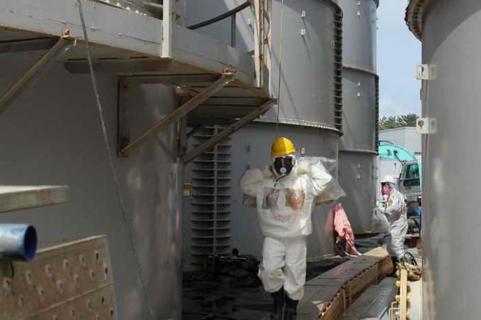 На «Фукусима-1» произошла утечка радиоактивной воды