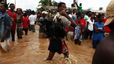 Жертвами наводнения на Мадагаскаре стали 14 человек
