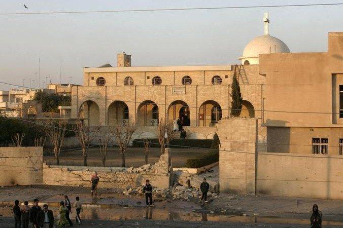 Монастырь в иракском городе Мосул. Фото: MUJAHED MOHAMMED/AFP/Getty Images   Epoch Times Россия