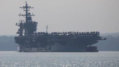 К берегам Йемена США направили авианосец