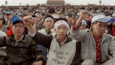 Китайские активисты проводят голодовку в память о «бойне 4 июня» (видео)