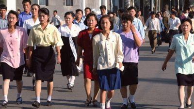 Северокорейские женщины украдкой следуют западной моде