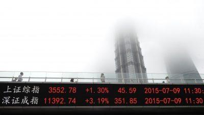 Китайские власти ищут виновных в падении фондового рынка