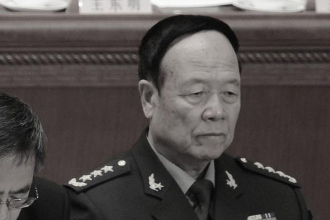 Бывший вице-председатель центрального военкома Го Босюн на политическом собрании в Пекине 5 марта 2013 года. Фото: Goh Chai Hin/AFP/Getty Images   Epoch Times Россия