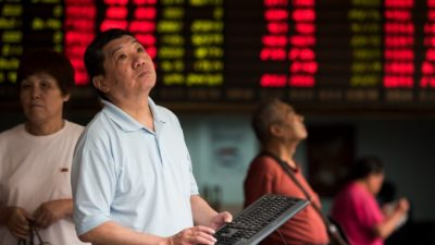В Китае может одновременно произойти девальвация и обвал фондового рынка (видео)