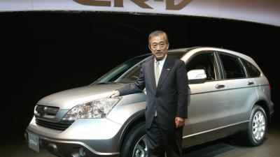 Кроссовер Honda CR-V с новым двигателем доступен в России
