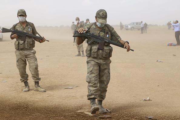Турецкие войска вошли в Ирак