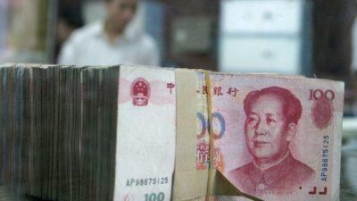 Сумма выданных кредитов в Китае достигла угрожающих для экономики значений
