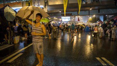 «Зонтичное движение» почти не повлияло на экономику Гонконга