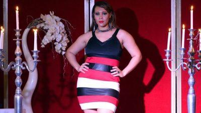 Как выбрать вечернее платье большого размера
