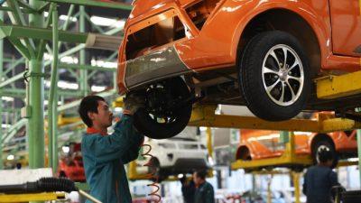 Китайский автопром переживает трудности