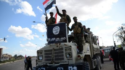 США заинтересовались растущим числом джипов Toyota у боевиков ИГИЛ