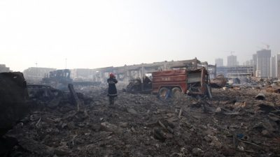 Китайскому вице-премьеру грозит отставка за взрывы в Тяньцзине