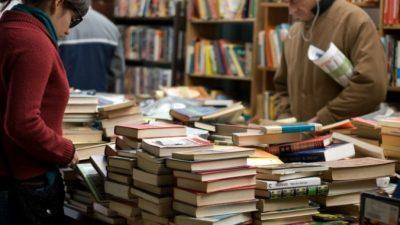 В городе на Неве открылись «Рождественские книжные аллеи»