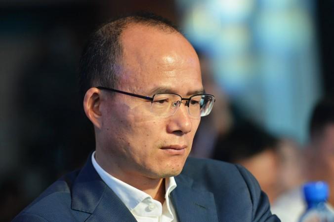 Го Гуанчан, председатель одной из крупнейших китайских частных корпораций Fosun, посещает конференцию в Ханчжоу. Компания Fosun сообщила, что Го Гуанчан сотрудничает со следствием по делу о коррупции. Фото: Getty Images | Epoch Times Россия