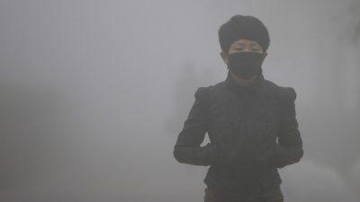 В Китае продолжает ухудшаться качество воздуха и воды