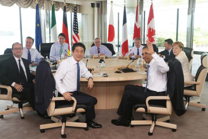 Участники саммита G7. Фото: Chung Sung-Jun/Getty Images | Epoch Times Россия