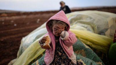 Правозащитники: Дети-беженцы становятся жертвами работорговцев