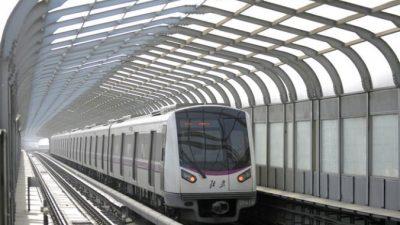К 2017 году в пекинском метро запустят ветку с поездами без машинистов