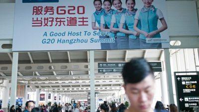 Почти военное положение в Ханчжоу: перед саммитом G-20 в Китае усилены меры безопасности