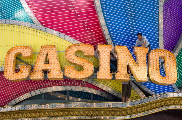 Антикоррупционная кампания в Китае настигла казино в Макао. Фото: PHILIPPE LOPEZ/AFP/Getty Images | Epoch Times Россия