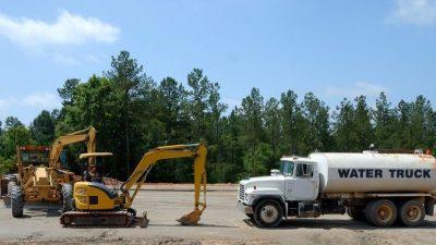 Использование дорожной геосетки в строительстве дороги