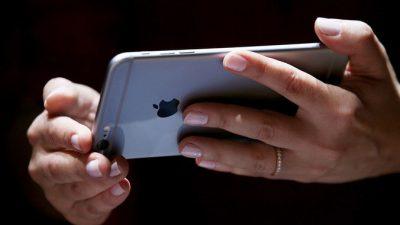 Китаянка в своём новом iPhone обнаружила чьи-то фотографии