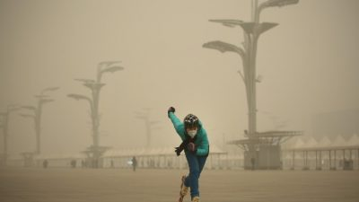 «Это страна трусов»: пост китайской матери по поводу смога широко распространился в Интернете