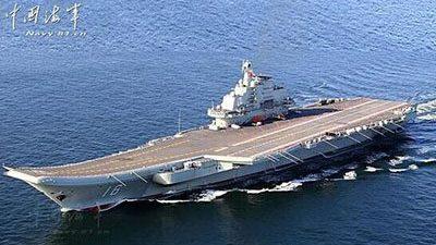 В Китае идёт активное строительство авианосца «Шаньдун»