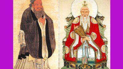 Когда Конфуций встретился с Лао-цзы