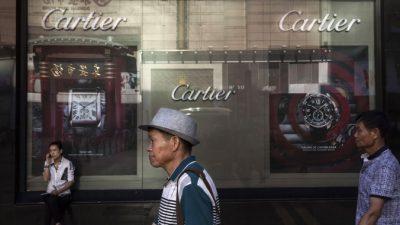 Китайский рынок предметов роскоши стабилизируется