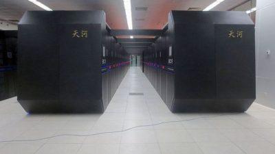 Китай представит миру первый суперкомпьютер мощностью 1 эксафлопс