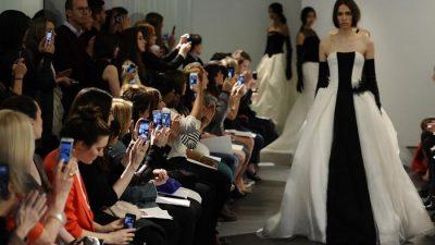 Свадебную коллекцию Vera Wang 2014 представили в Нью-Йорке